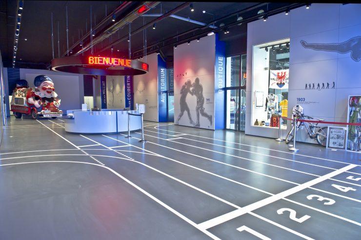 Hall du Musée Nationam du Sport
